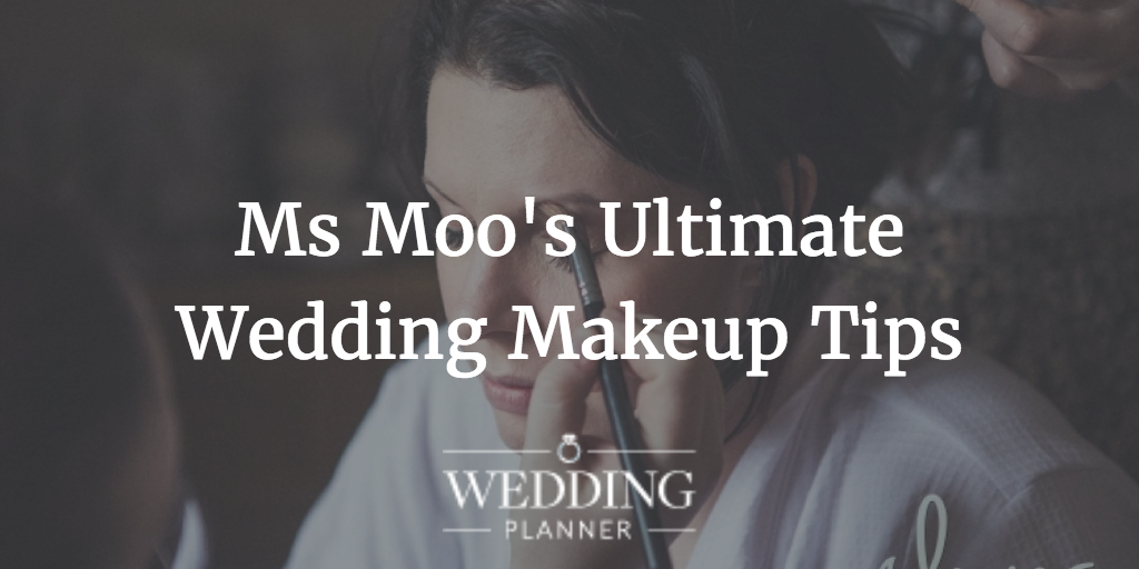 ms moo makeup tips, wedding makeup tips