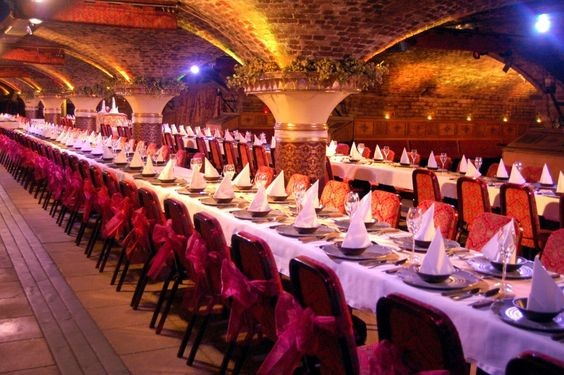 the ivory vaults, asian wedding venue, large wedding venue