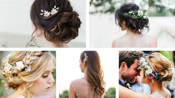 Hairstyles for wedding party 2017 : 2017s Best Wedding Hair Accessories