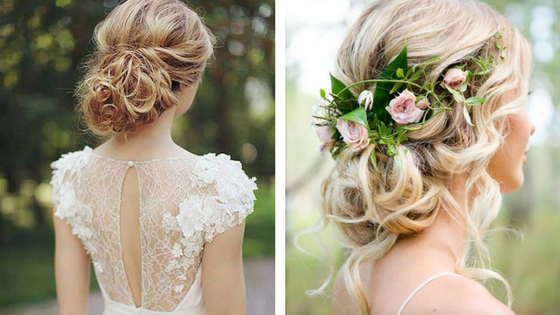 wedding hair, wedding hair trends, hair trends of all time