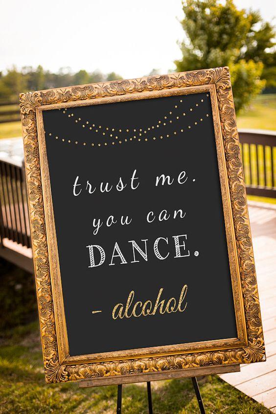 24 fun wedding sign ideas your guests will love weddingplanner wedding wedding planner wedding sign wedding diy dance sign solutioingenieria Gallery