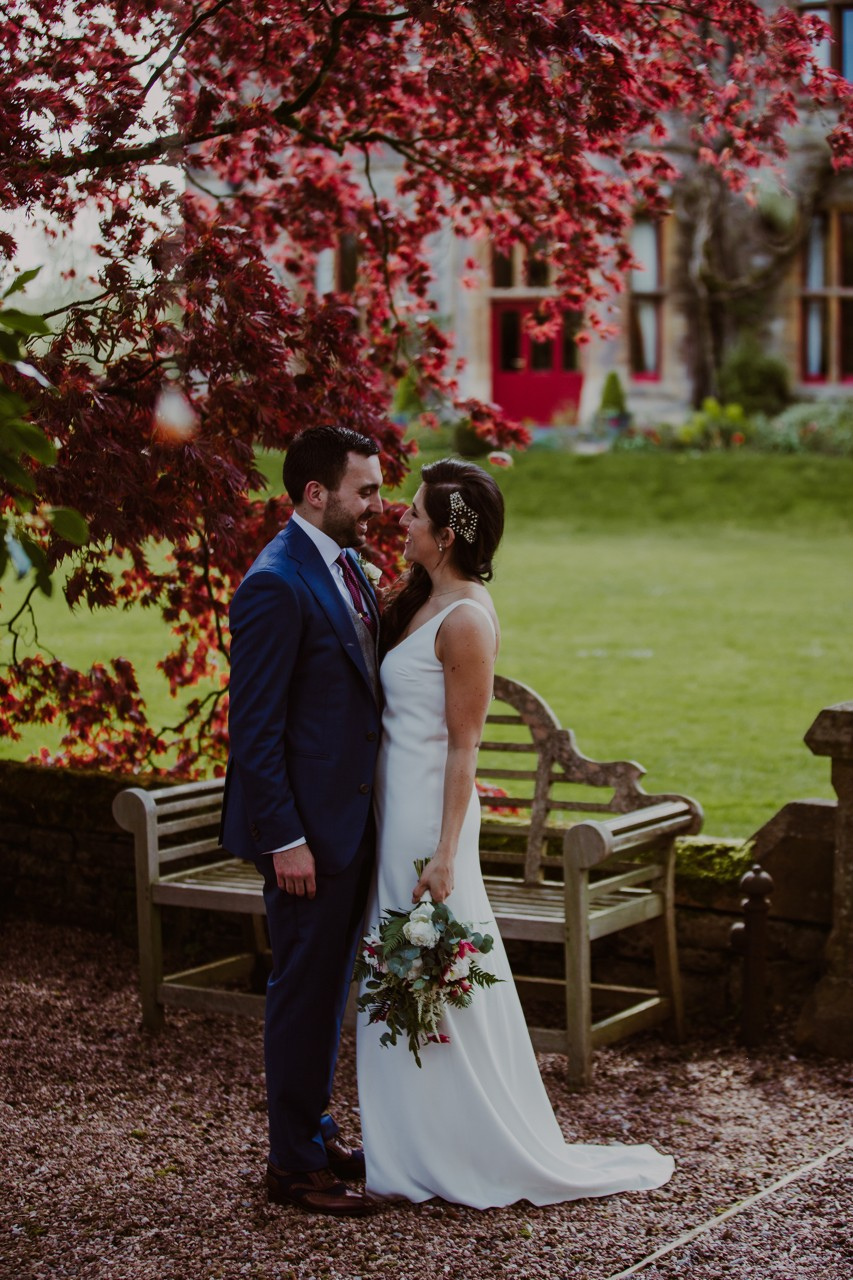 lara and ben, real wedding, huntsham court, country house real wedding, 1920's wedding, speakeasy wedding, DIY wedding