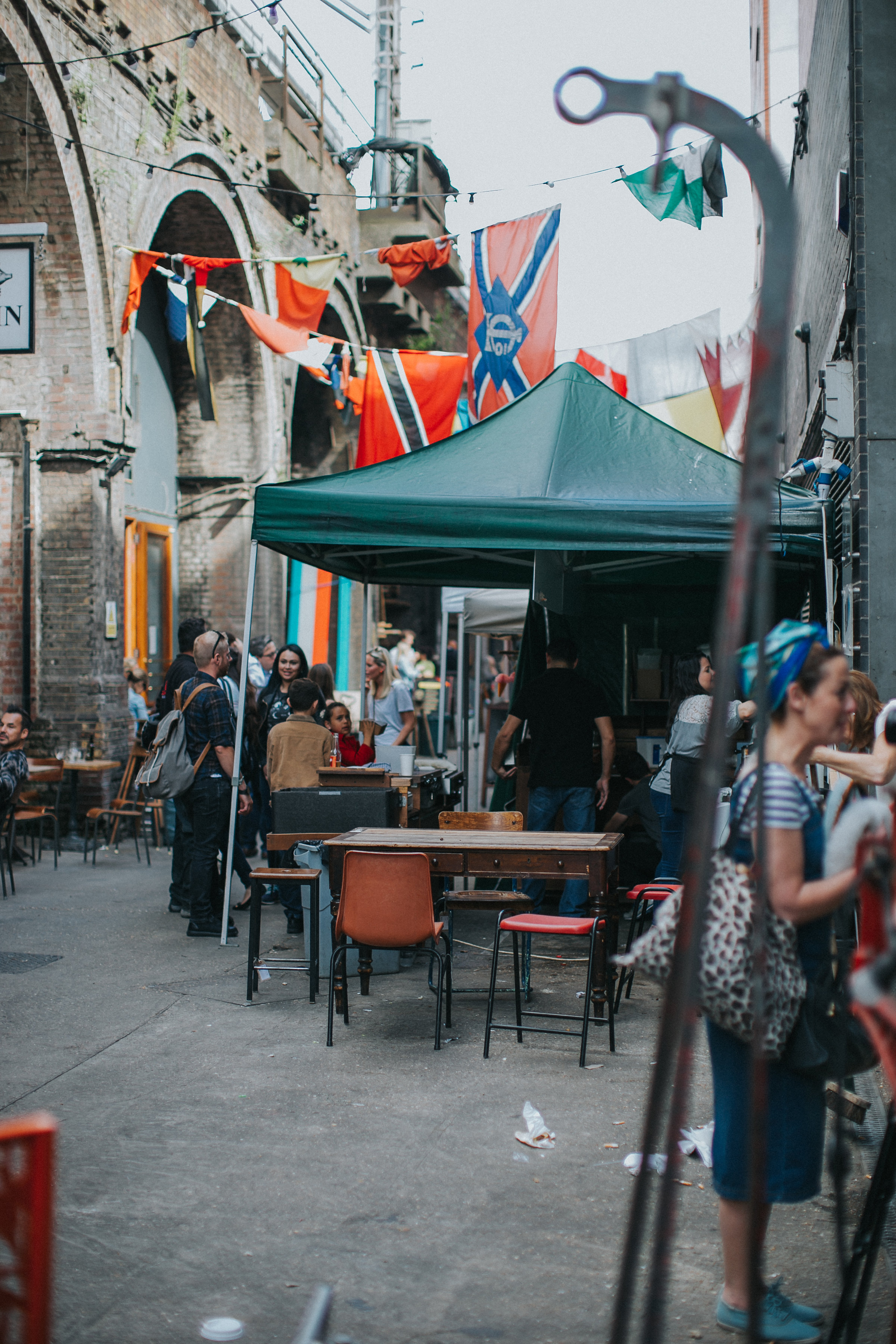 maltby street market wedding