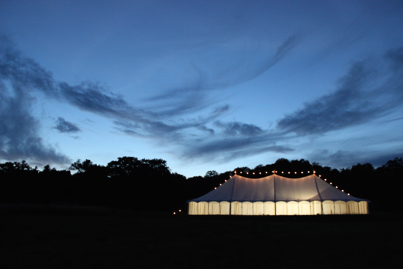 one six events, wedding marquee hire