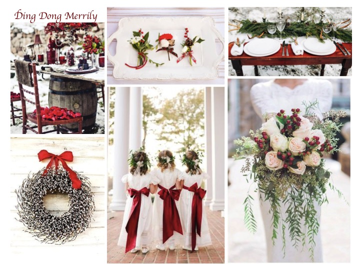 christmas wedding ideas, christmas themed wedding, winter wedding, wedding ideas
