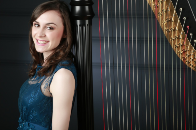 Bethan Griffiths, Wedding Harpist