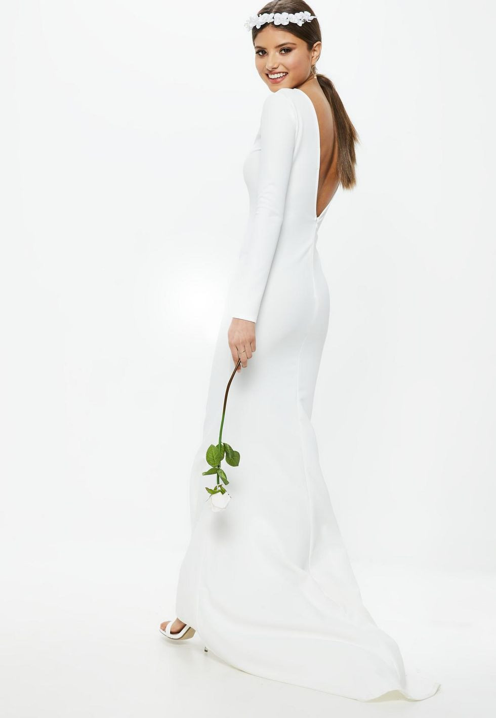 Missguided Wedding Dress - Cheap Wedding Dress - WeddingPlanner.co.uk