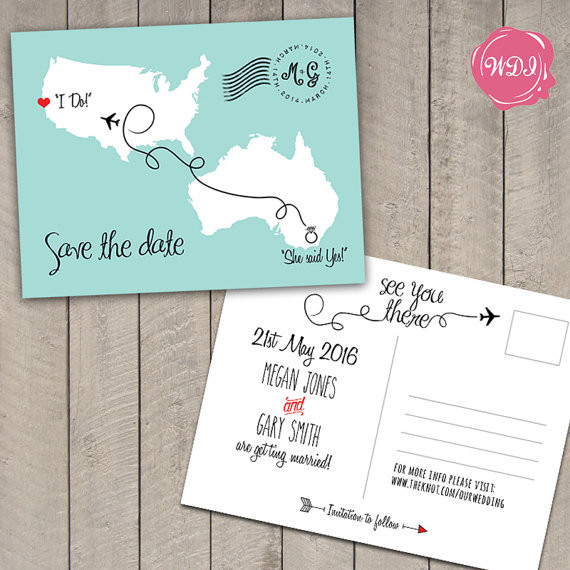 destination save the date, save the date wedding