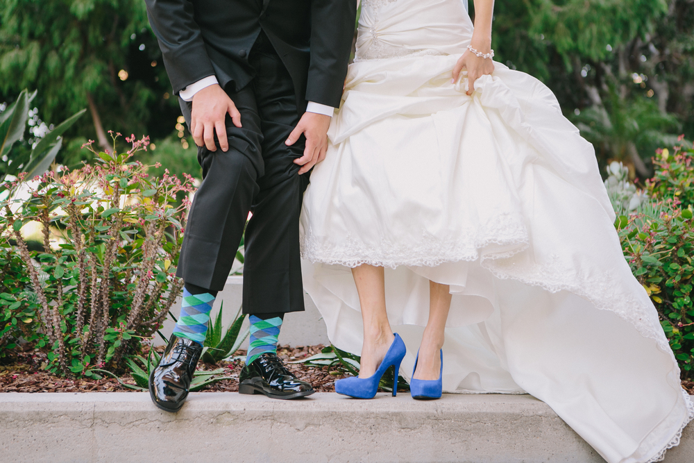 groom sock flash