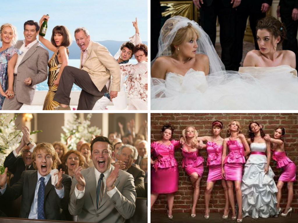 wedding films, wedding chick flicks, wedding ideas, wedding inspiration