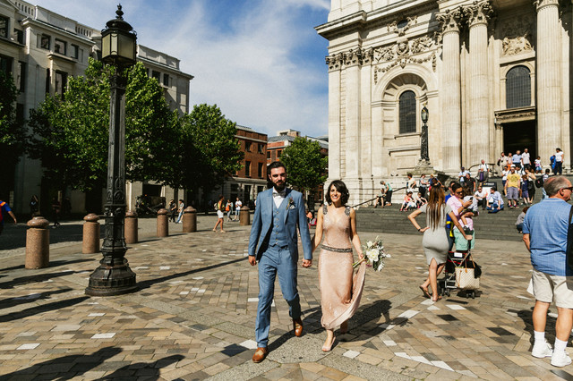 real wedding at the fable, london wedding