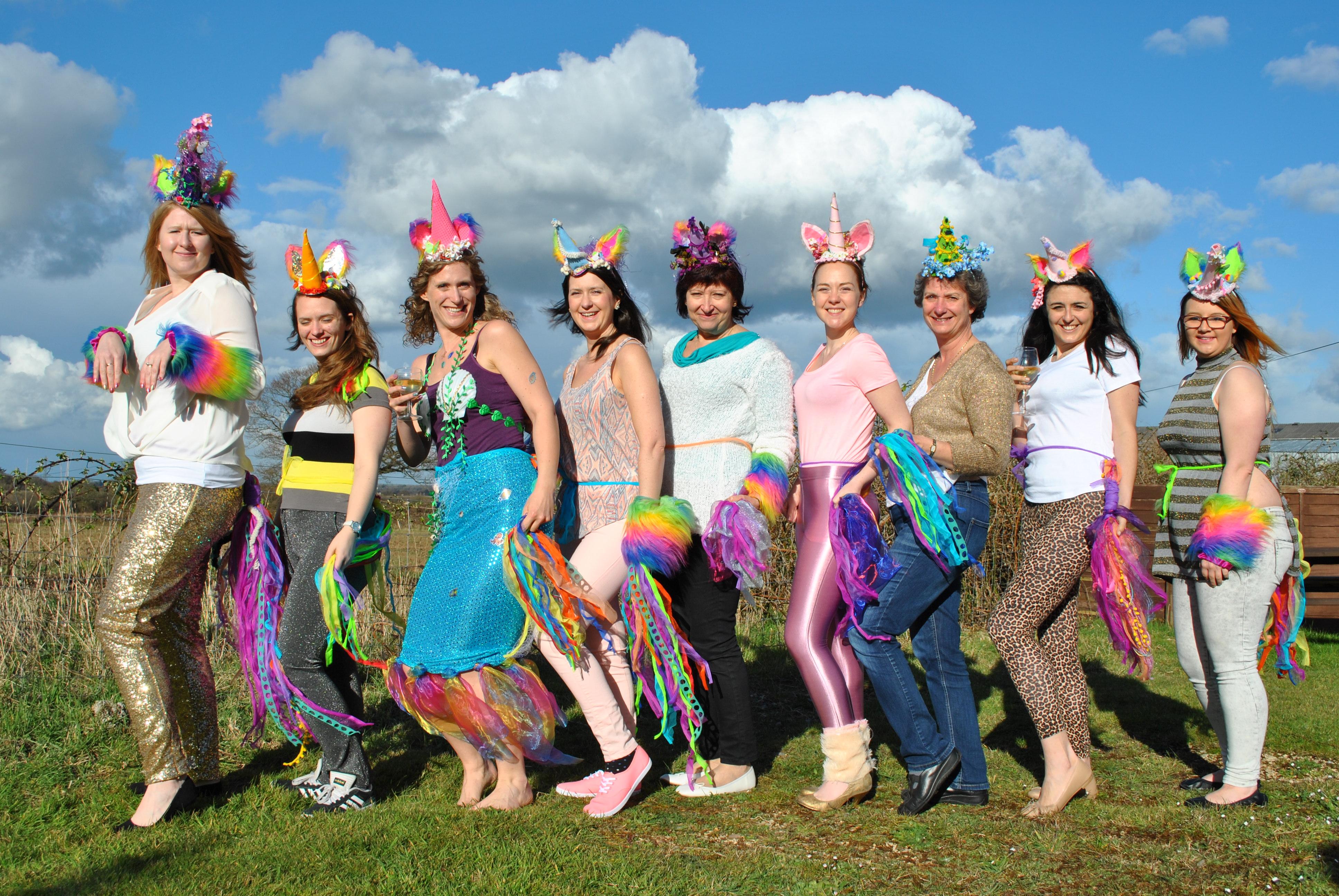 Unicorns Vs Mermaids The Ultimate Alternative Hen Do Weddingplanner Co Uk