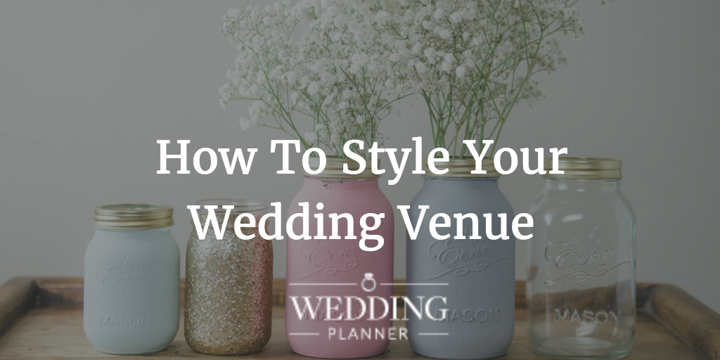 How To Style Your Wedding Venue, With Ambience...