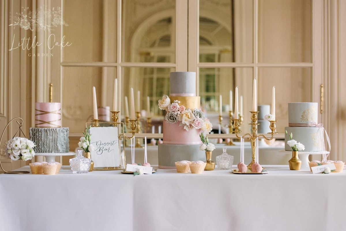 Little Cake Garden Cakes Wedding Budget