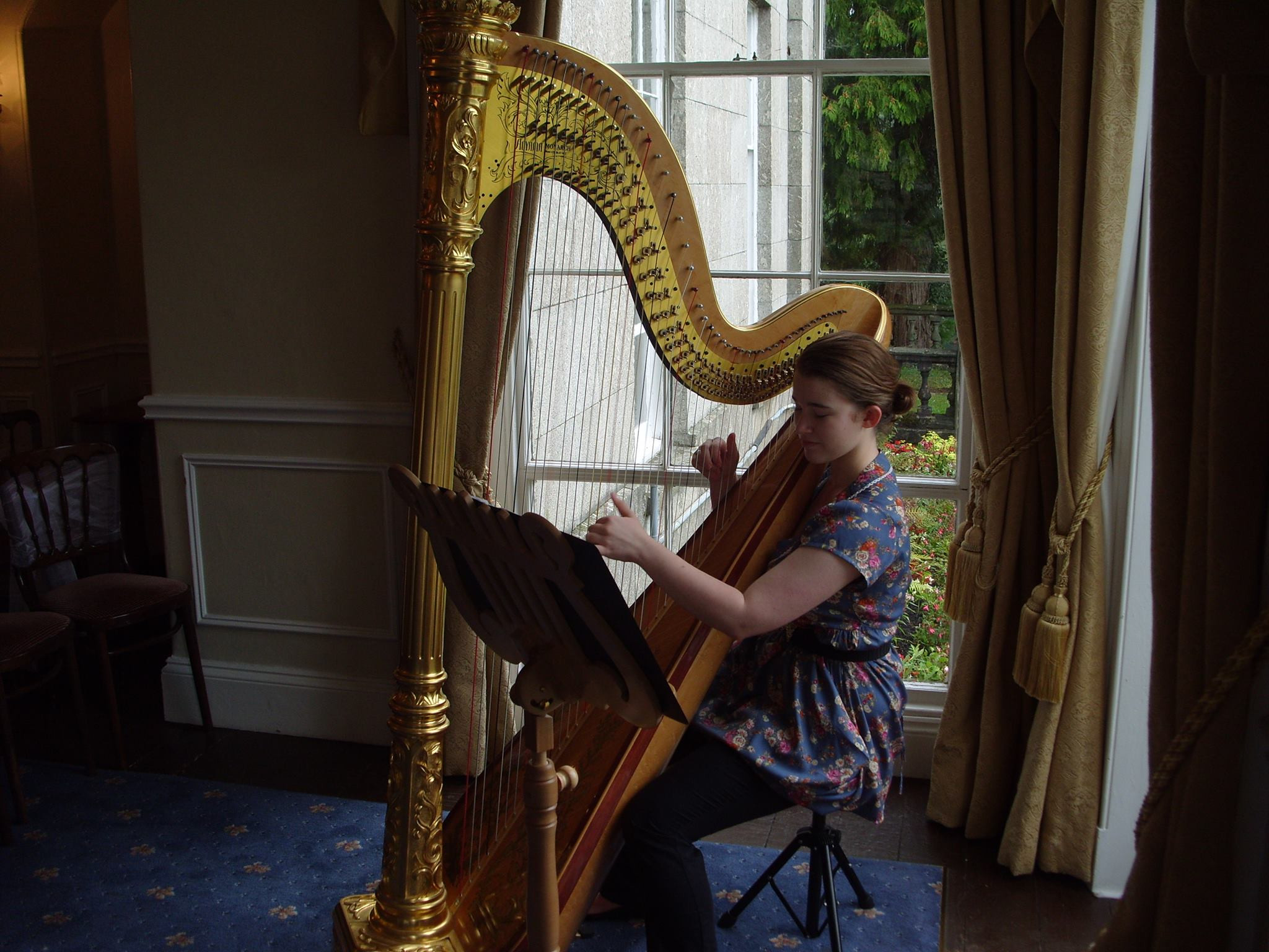 Grace Kirkby Harpist WeddingPlanner
