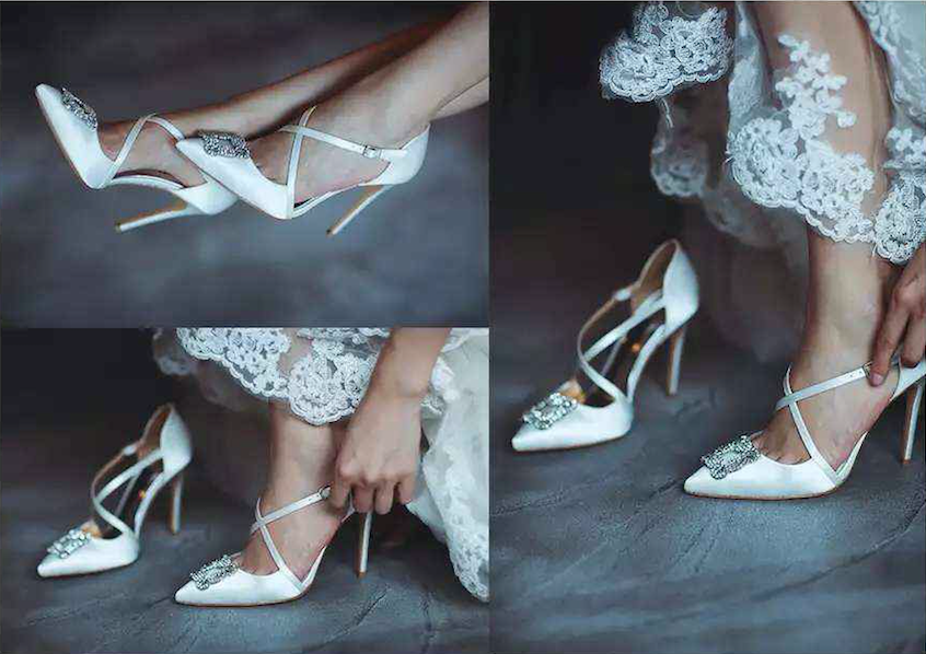 wedding shoes, solely original