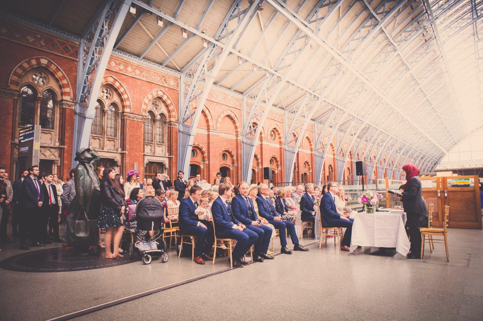 St Pancras Searcys Wedding Venue Alternative London Late