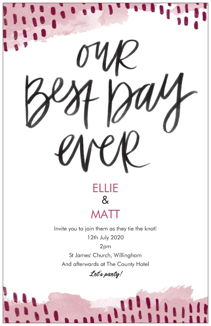 how to word wedding invitations, wedding invitations, vistaprint wedding invitations