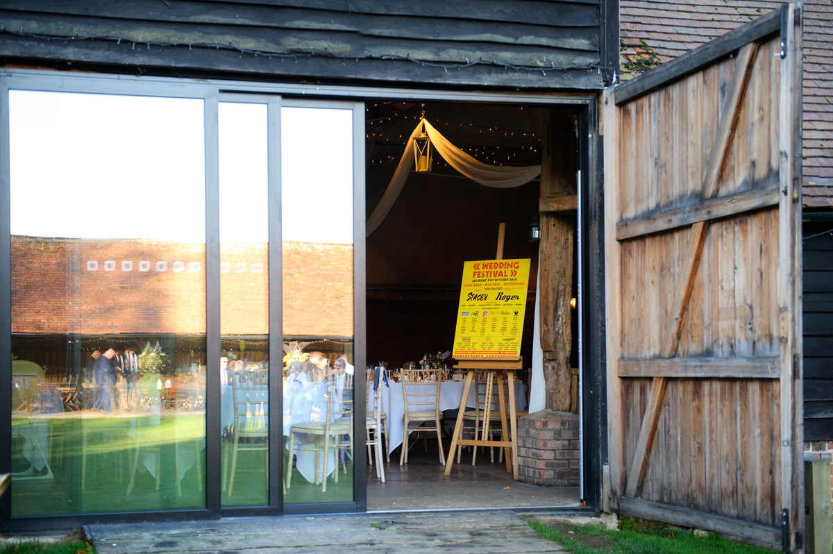 laines barn wedding