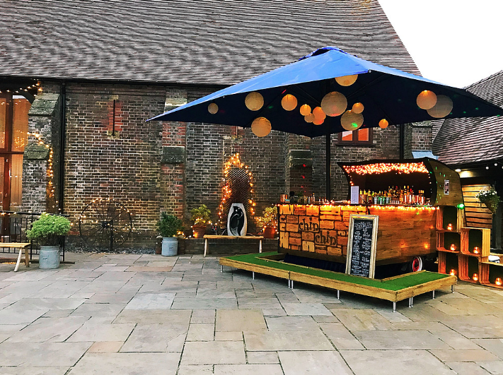 chin chin mobile bar hire, mobile bar hire wedding