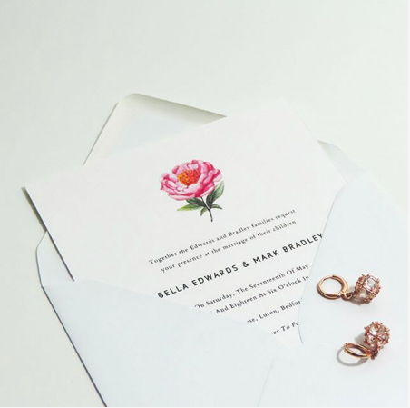 Print Glorious Print Wedding Invitations