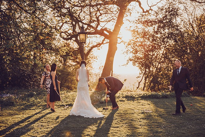 Outdoors Wedding, Vintage