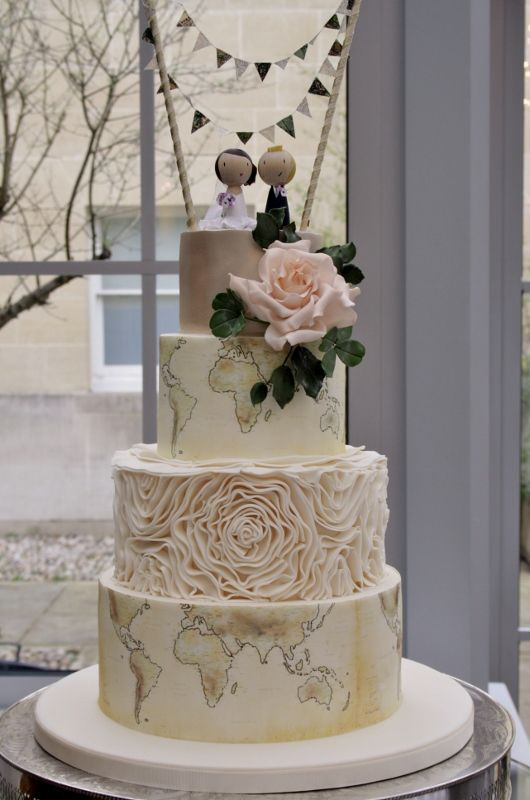 travel themed wedding cakes inspire me come away with me travel wedding 21242
