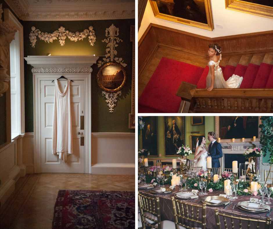 Decadent Downton Abbey Inspired Wedding Shoot