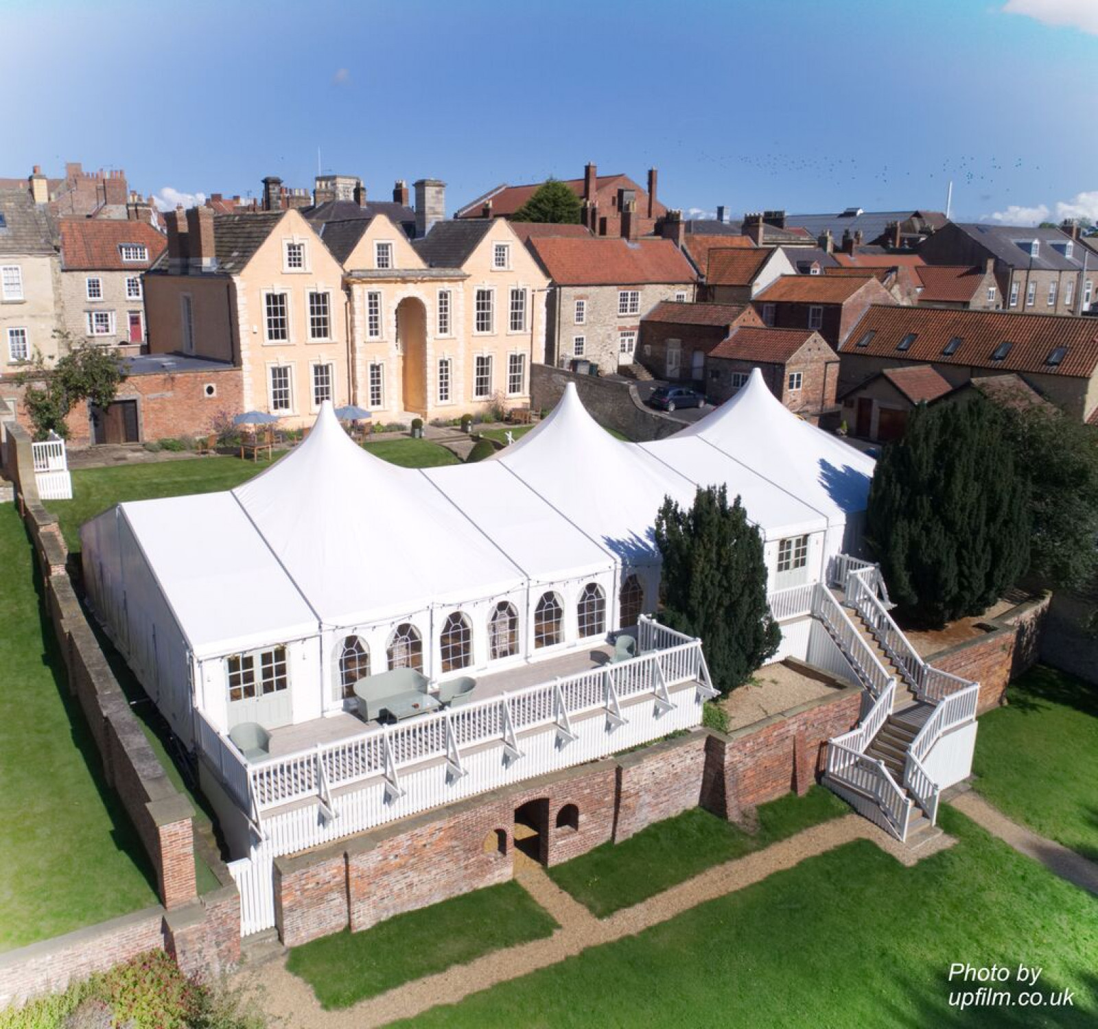 York House at the Talbot | Marquee Wedding Venues | WeddingPlanner.co.uk
