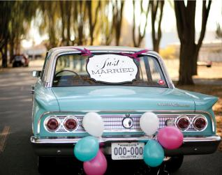Have Fun! Decorate Your Wedding Car