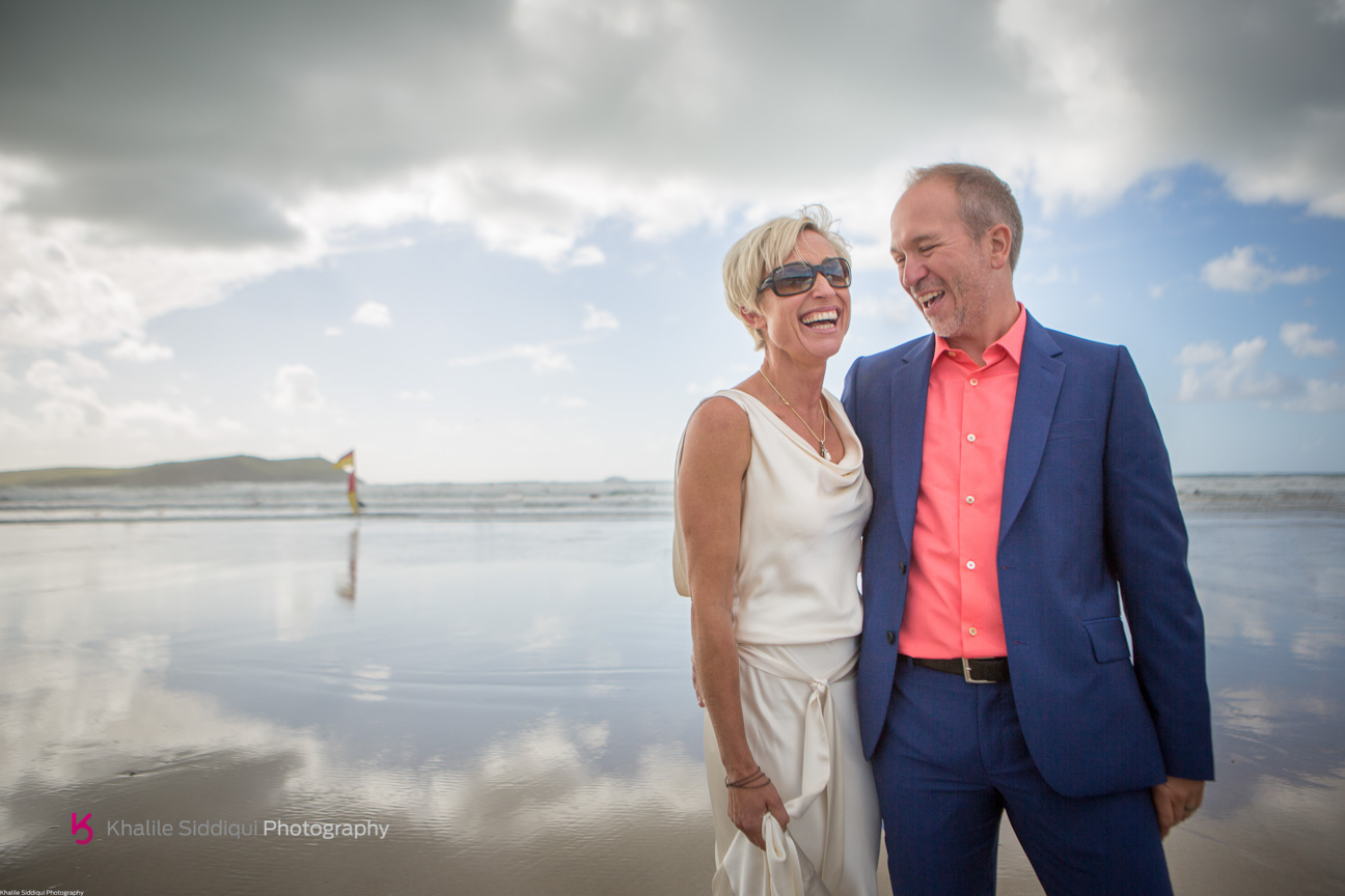 Susie & Tim's Cornwall Beach Wedding
