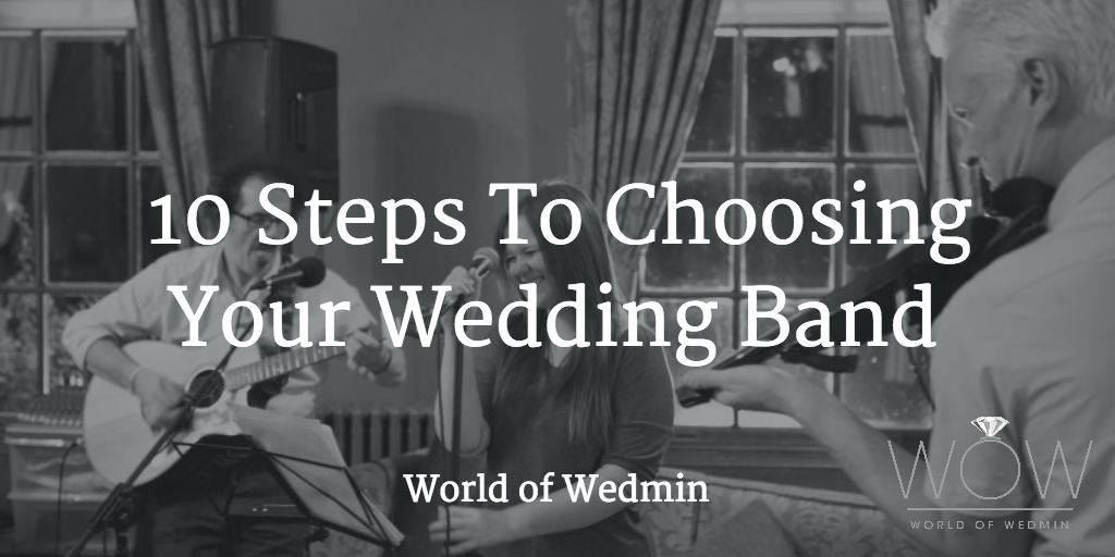 10 steps to choosing your wedding band