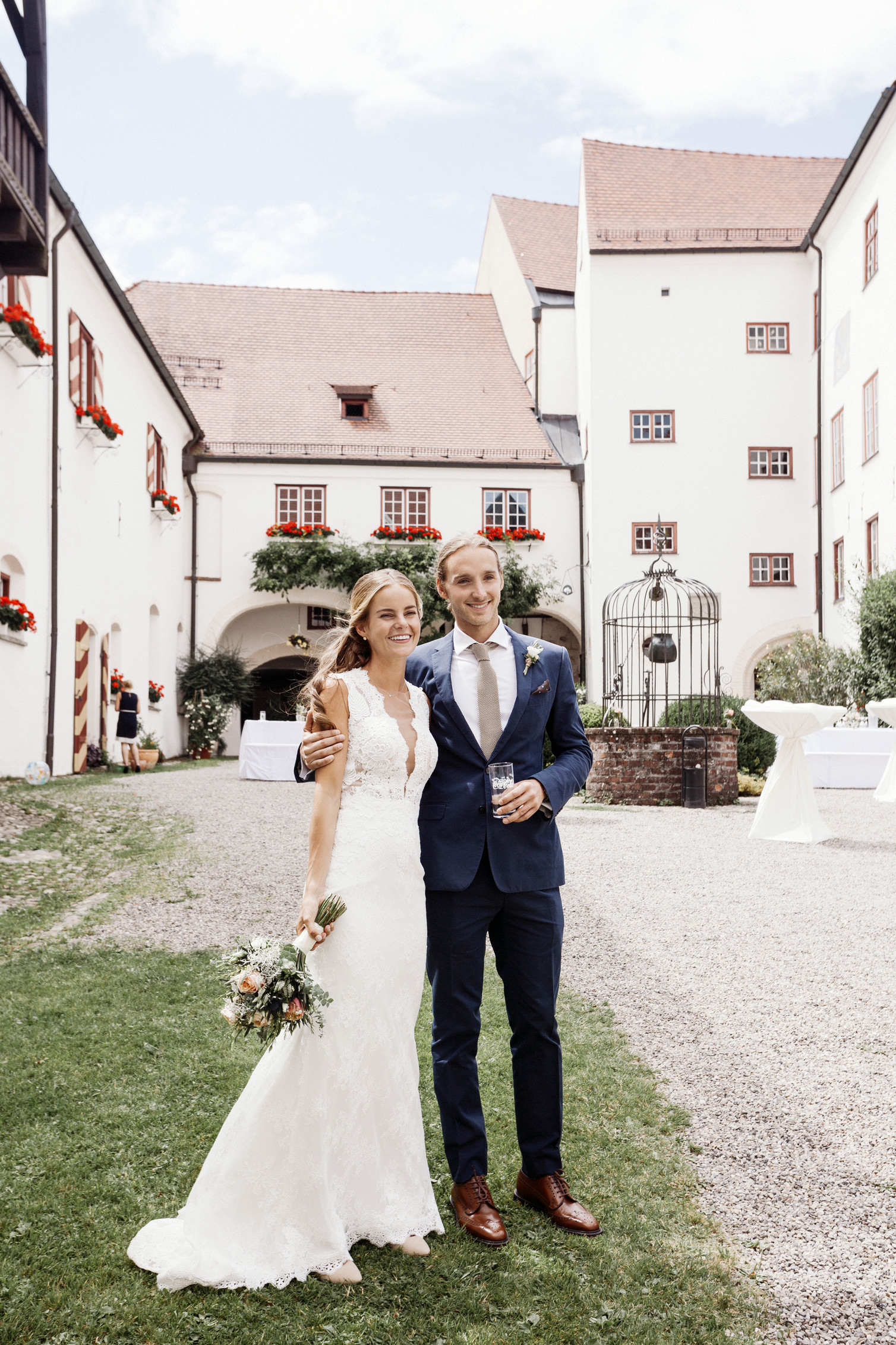 boho castle wedding