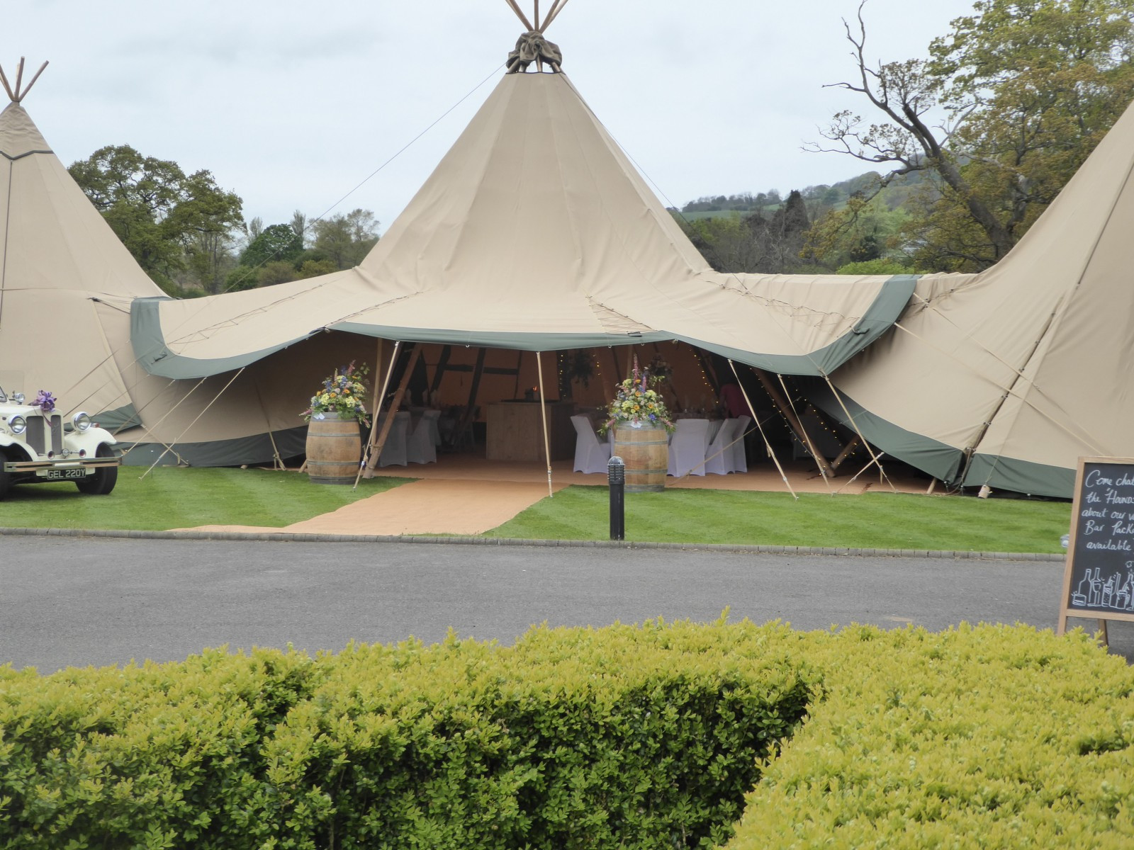 Carr Mount | Marquee Wedding Venues | WeddingPlanner.co.uk