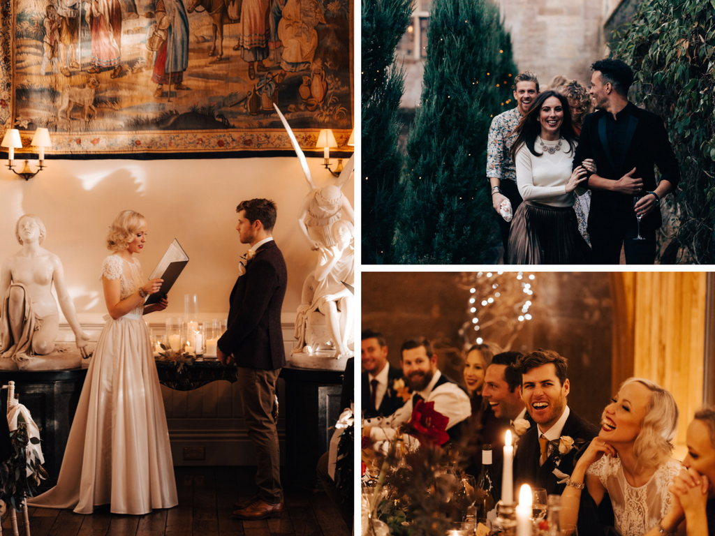wedding inspiration, real wedding, elmore court, wedding ideas, winter wedding