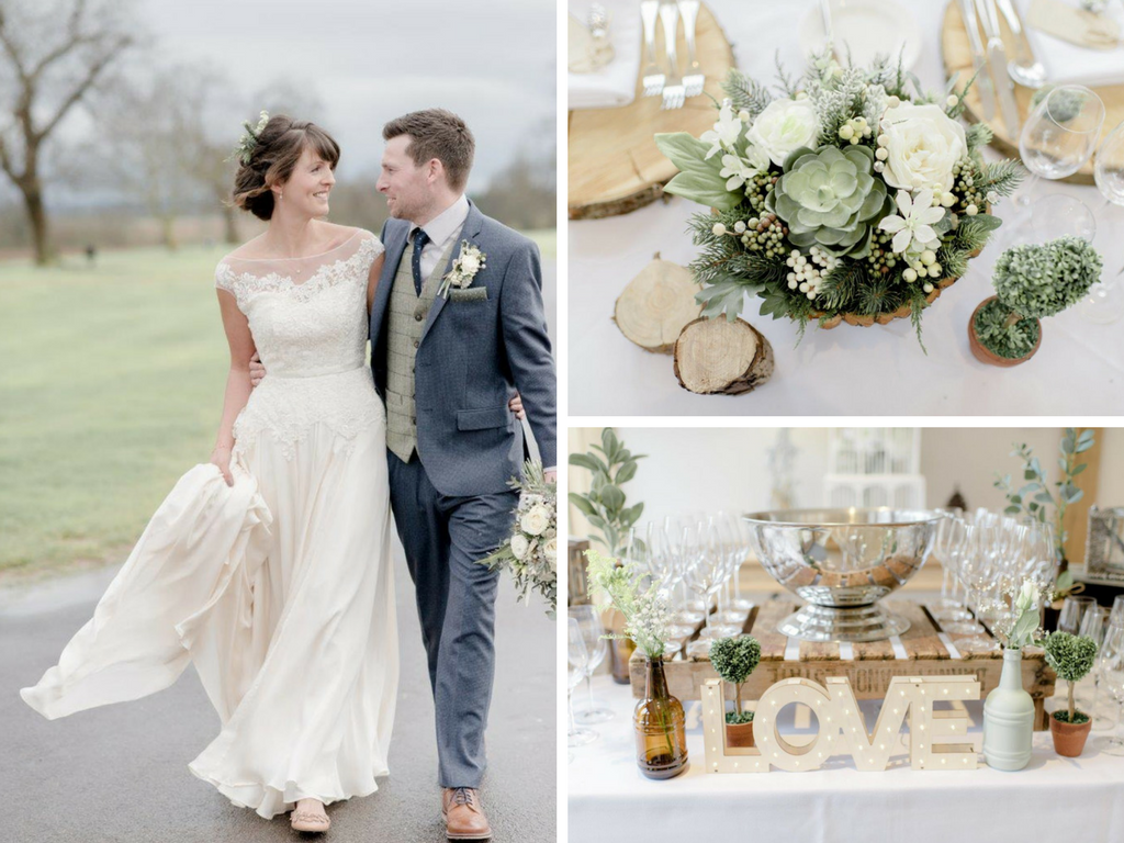 James & Nicola's Elegant Woodland Barn Wedding